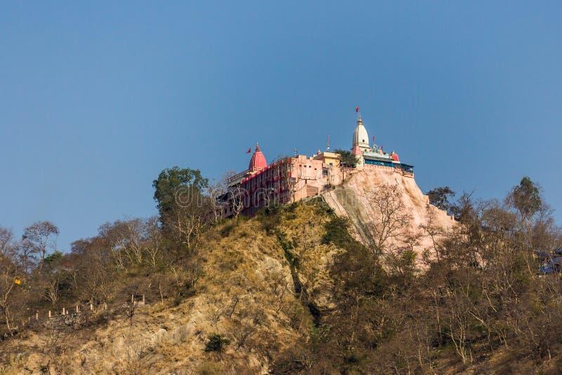 Mansa Devi Temple, Haridwar stock afbeeldingen