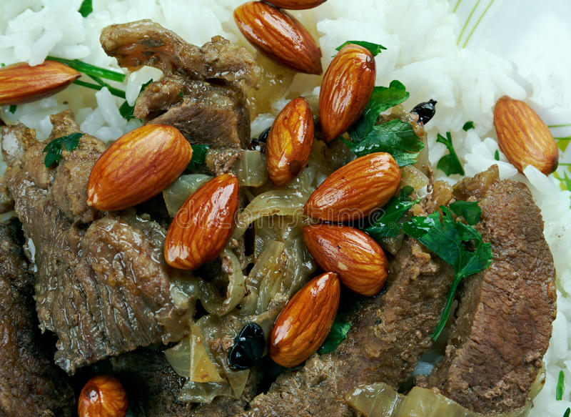 Mansaf stock photo