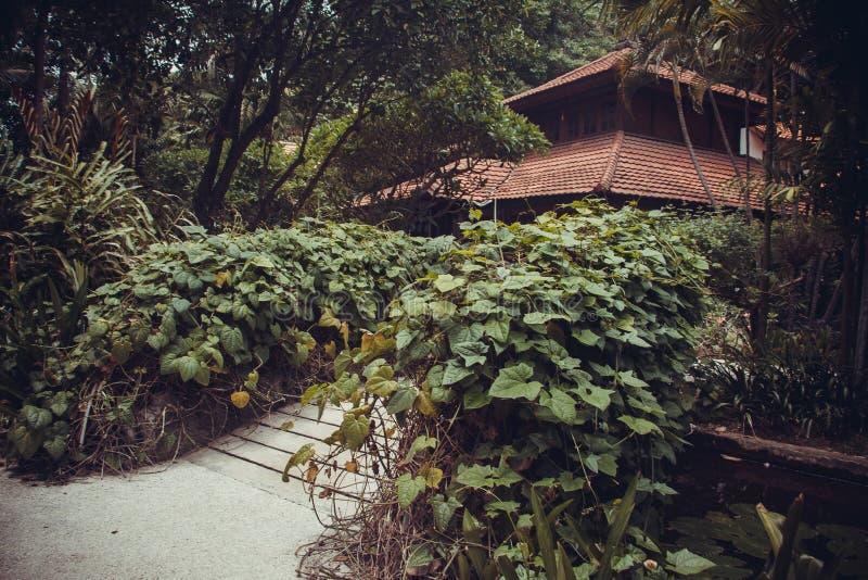 Mansión de lujo de Bali fotos de archivo libres de regalías