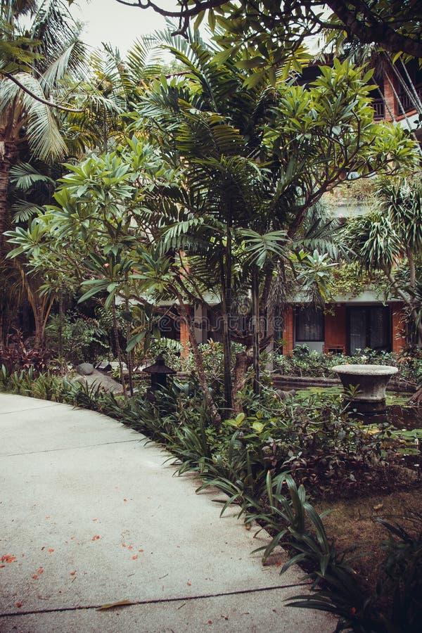 Mansión de lujo de Bali imagenes de archivo