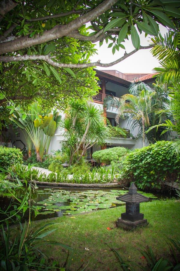Mansión de lujo de Bali imágenes de archivo libres de regalías