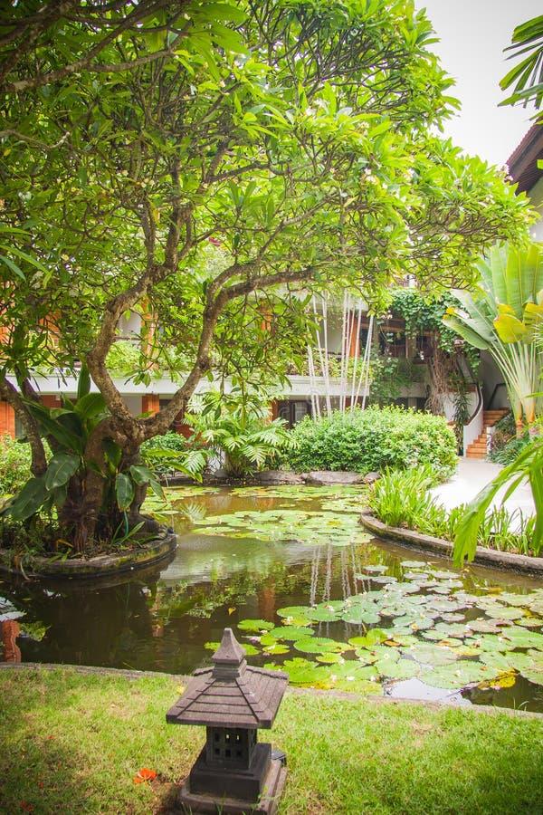 Mansión de lujo de Bali fotografía de archivo libre de regalías