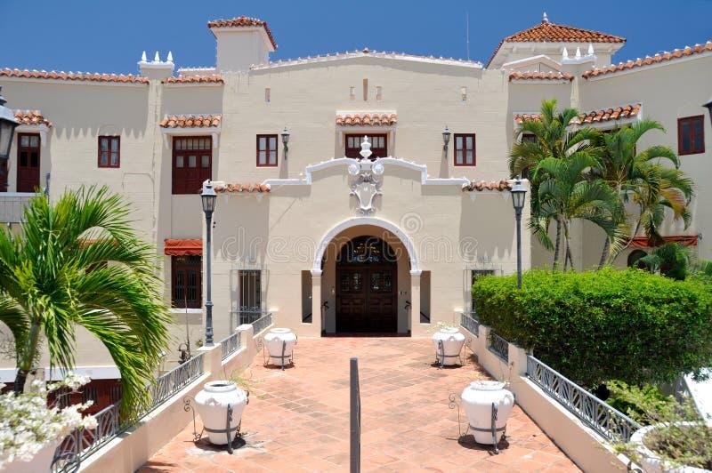 Mansión en Ponce, Puerto Rico de Castillo Serralles foto de archivo