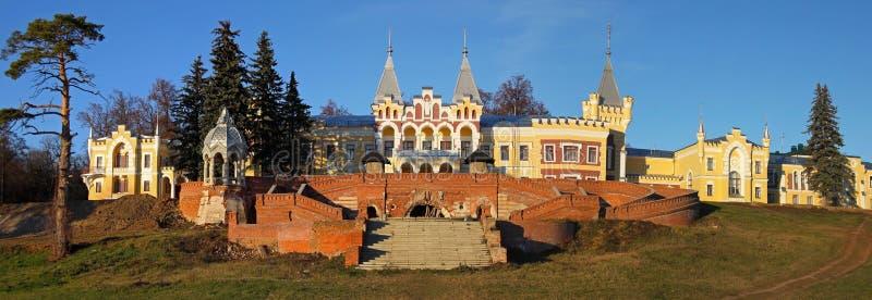 Mansion of baron Von Dervis in village Kyritz. Ryazan region, Russia stock photos