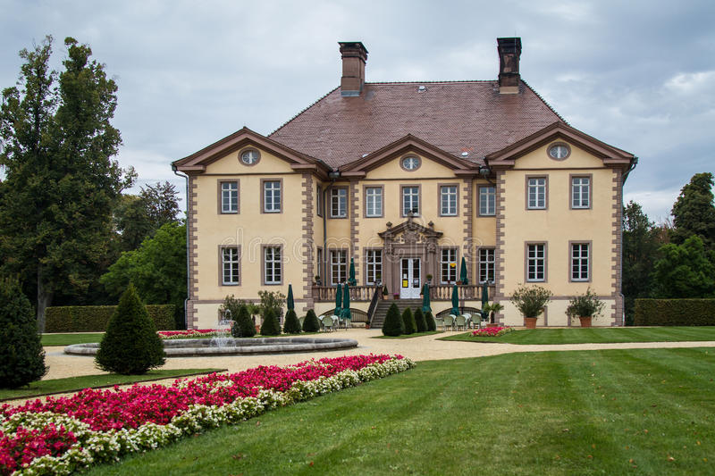 Mansion in Germany royalty free stock image