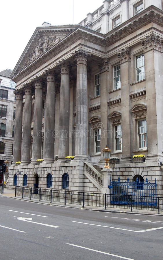 Download Mansion House, City Of London Stock Image - Image: 11986177