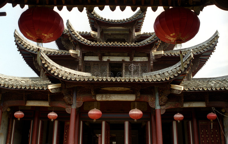 Download Mansion Of Ming Dynasty Stock Images - Image: 4423594