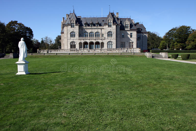 Mansion in Newport, Rhode Island royalty free stock images
