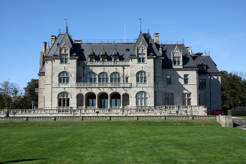 Mansion in Newport, Rhode Island royalty free stock photo