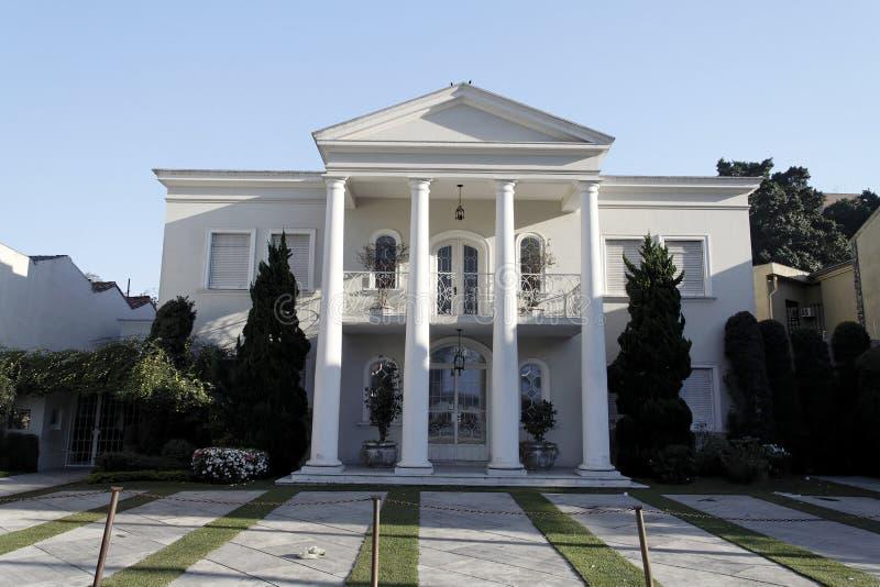 Mansion in Sao Paulo stock photo