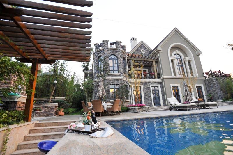 Download Mansion Swimming Pool Royalty Free Stock Photo - Image: 23472985