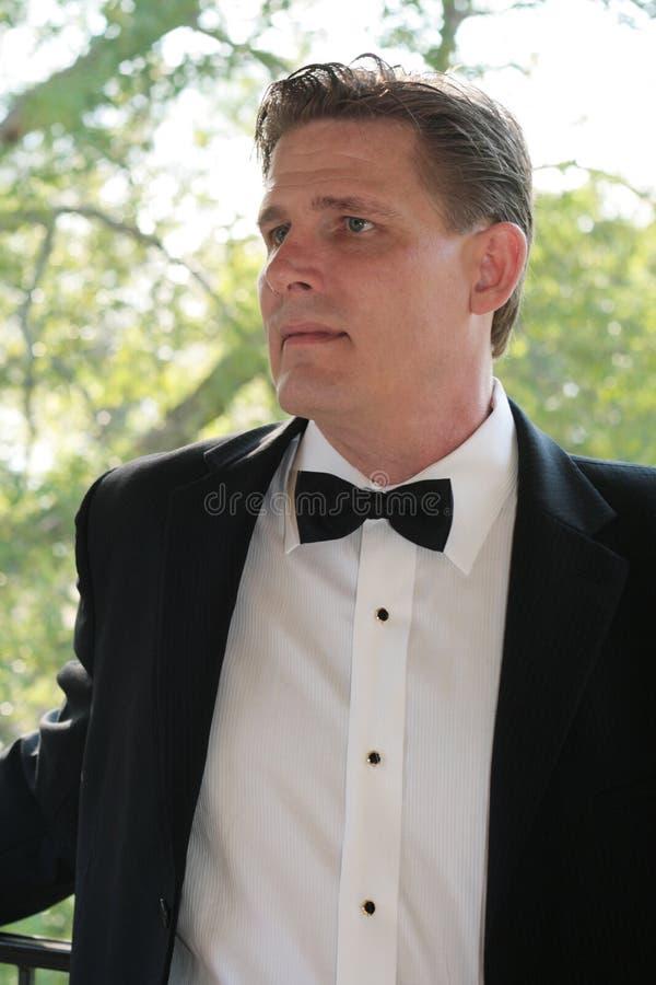 mansmoking royaltyfri fotografi