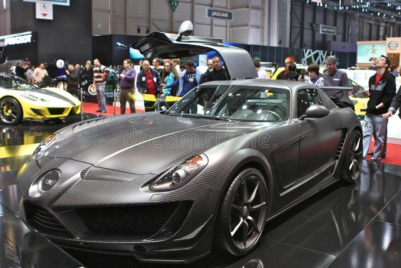 Mansory ajustant Mercedes photo stock