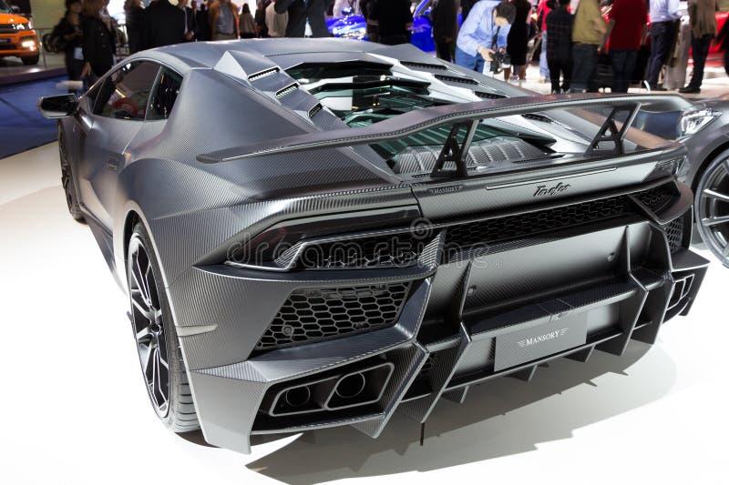 Mansory Torofeo (Lamborghini Huracan) 图库摄影