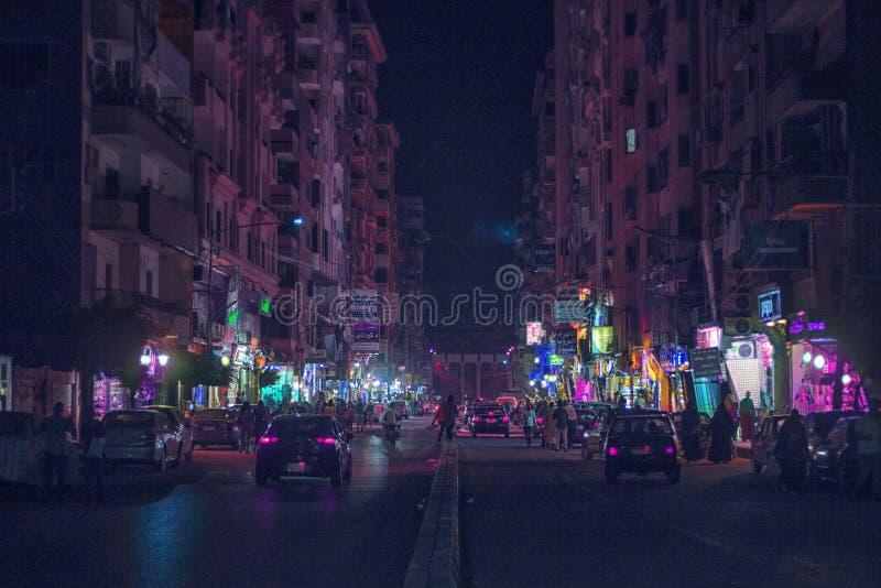 Mansourastad & x28; Gala& x27; st & x29; stock foto