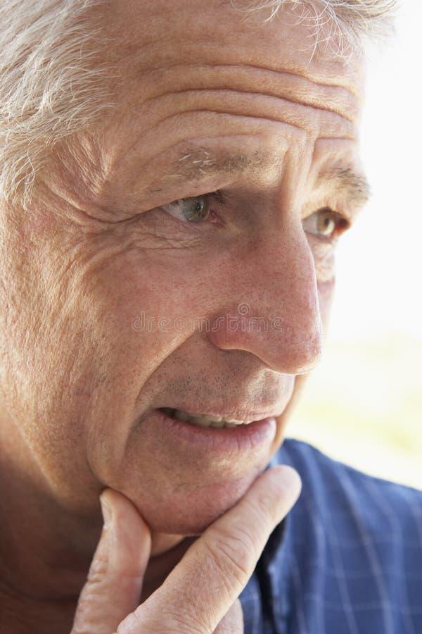 manståendepensionär royaltyfri bild