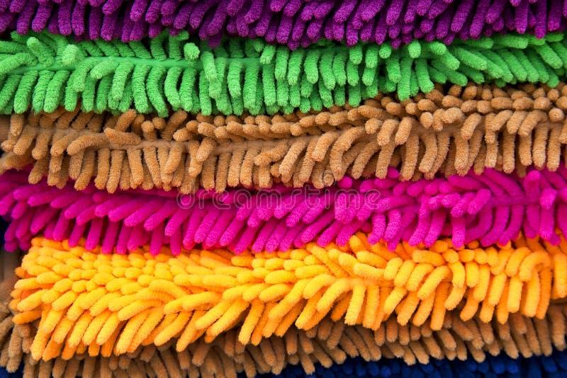 Manta colorida de la alfombra imagen de archivo