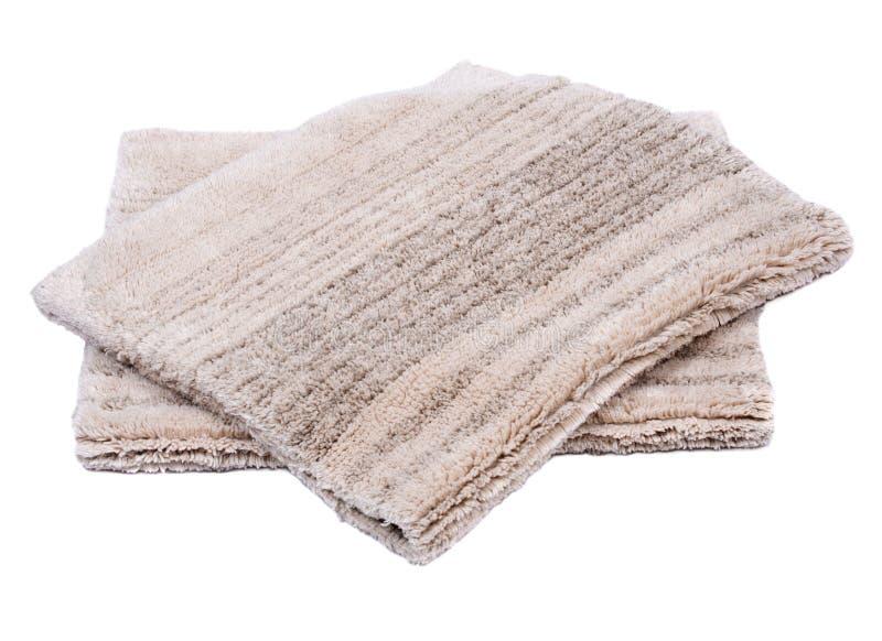 Manta de la pila del corte del lino del algodón foto de archivo