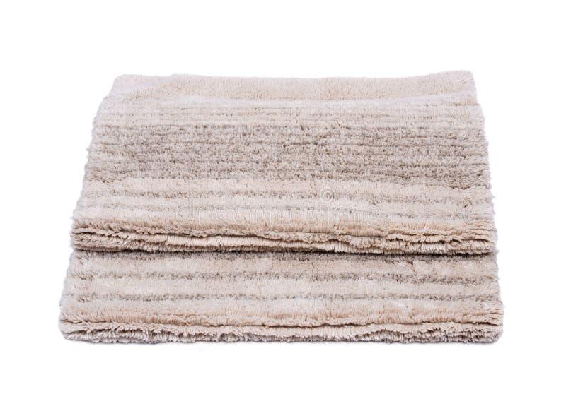 Manta de la pila del corte del lino del algodón imagen de archivo