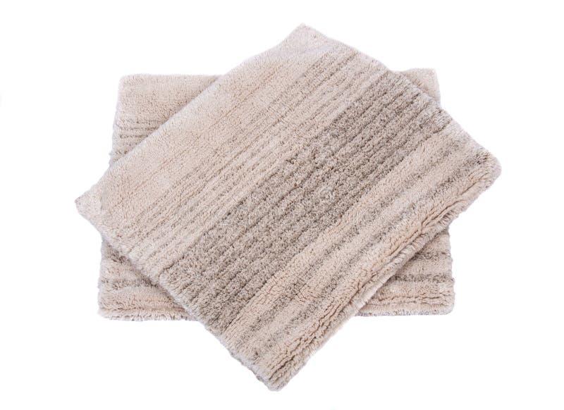 Manta de la pila del corte del lino del algodón fotos de archivo