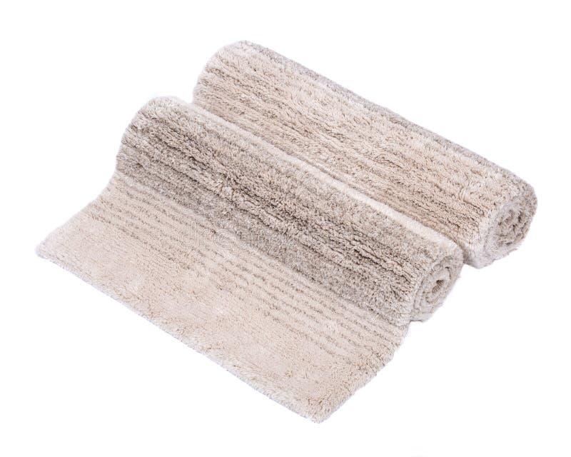 Manta de la pila del corte del lino del algodón foto de archivo libre de regalías