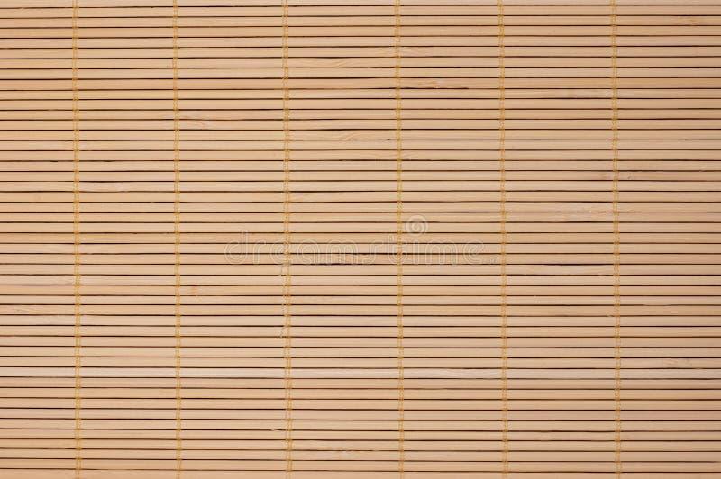 Manta del bambú de Brown imagen de archivo libre de regalías