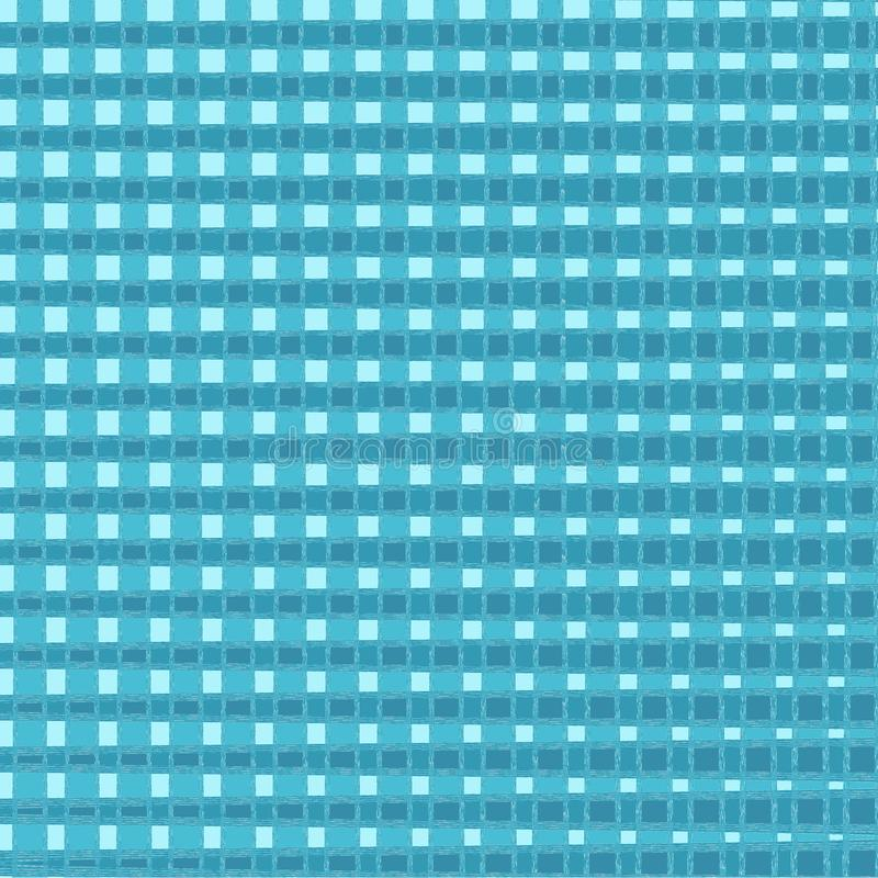 Manta do Natal e de tart? do ano novo Teste padrão escocês no azul e na gaiola Gaiola escocesa Fundo quadrado Textura da tela M?o ilustração royalty free