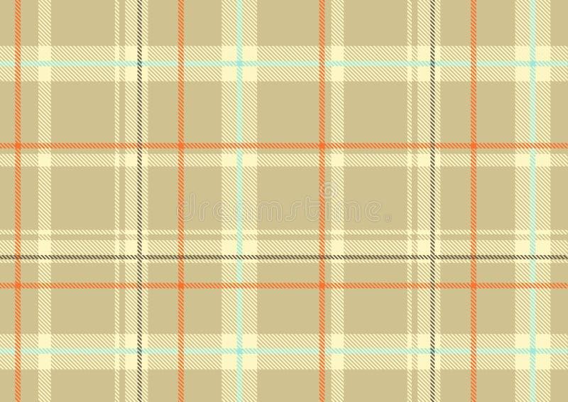 Manta escocesa ilustração royalty free