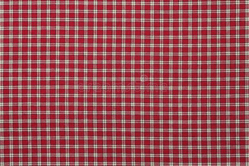 Manta vermelha e branca fotografia de stock royalty free