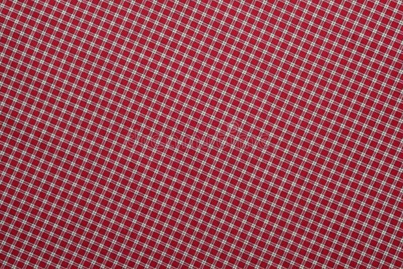 Manta vermelha e branca imagens de stock