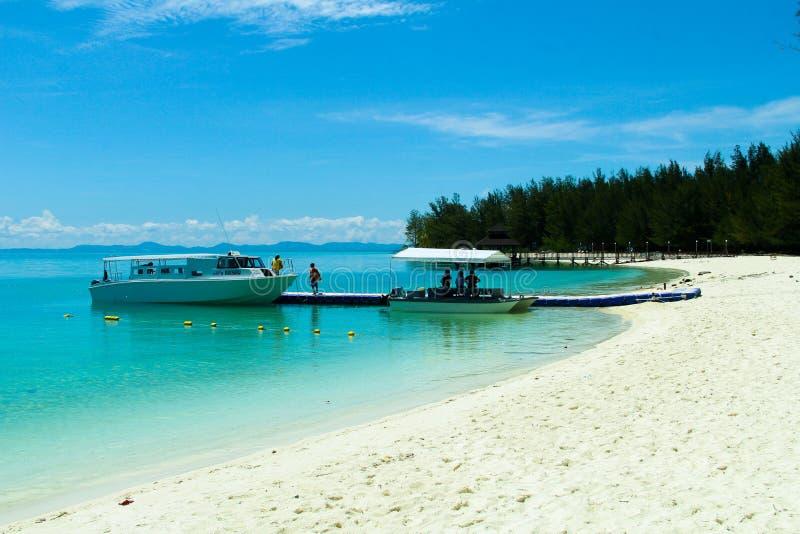 Mantanani-Inseln stockfotos