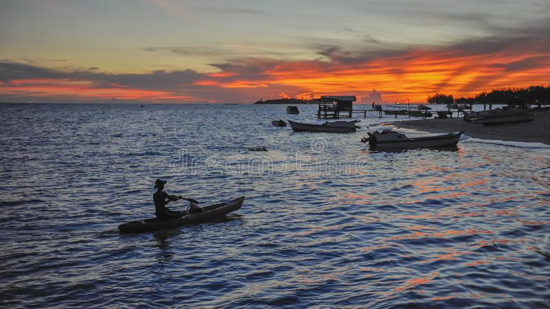 Sabah Mermaid Island. Mantanani Island is nicknamed Mermaid Island. It is a 30-minute ferry ride from Kota Kinabalu. It consists of three outlying islands. It is stock image