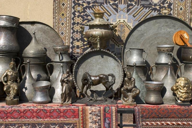 Mantas y estatuas II fotografía de archivo