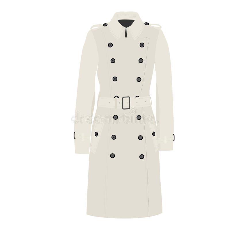 Manteau de fossé illustration de vecteur