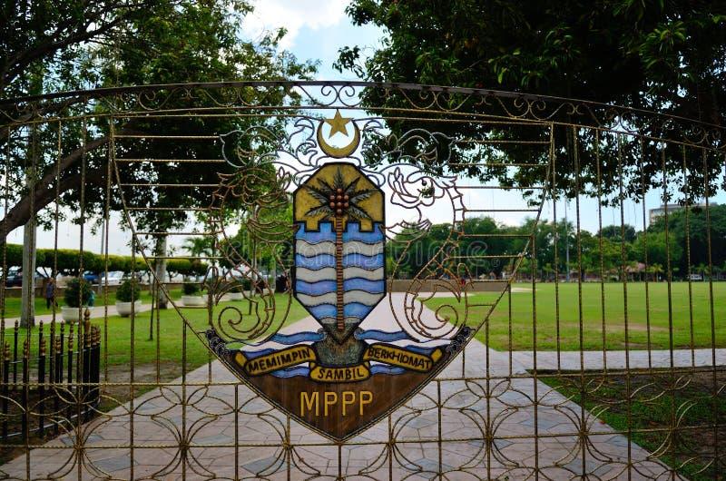 Manteau de Georgetown des bras image stock