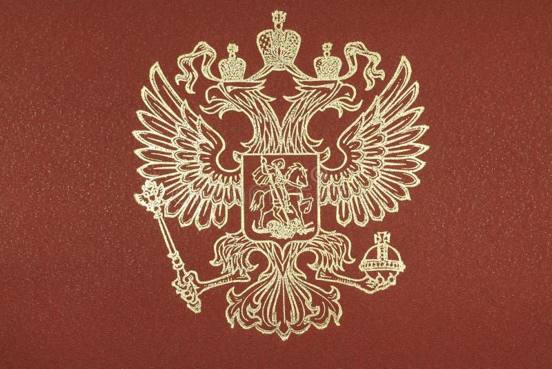 Manteau des bras de la Fédération de Russie photographie stock libre de droits