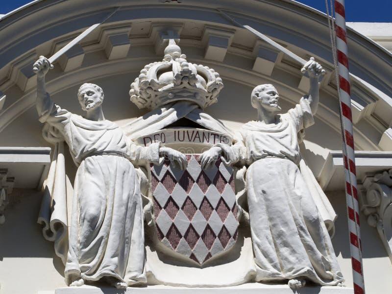 Manteau du Monaco des bras images libres de droits