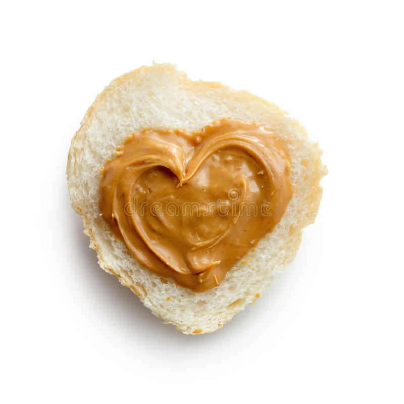 Manteiga de amendoim foto de stock