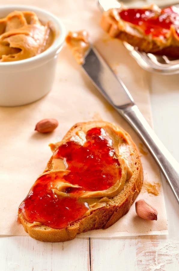 Manteiga de amendoim imagens de stock royalty free