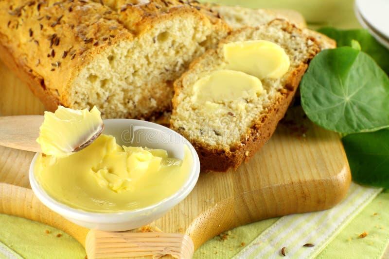Manteiga e naco doce imagens de stock royalty free