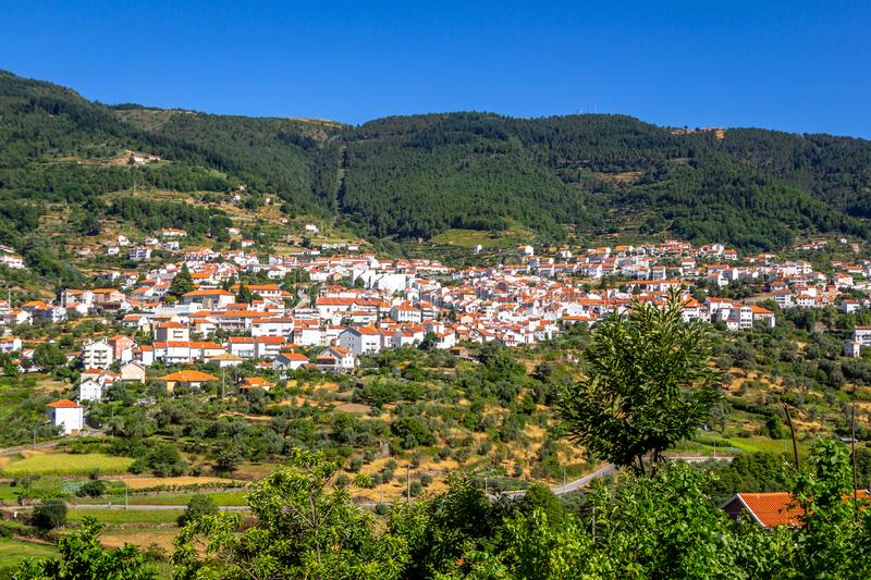 Manteigas in Portugal, Europe royalty free stock images