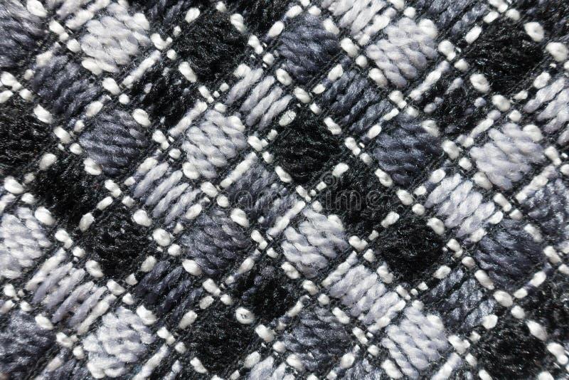 Mantelgewebe mit diagonalen Stichen lizenzfreie stockfotos