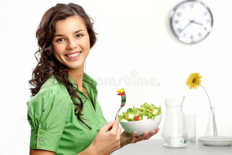 Mantendo uma dieta imagens de stock