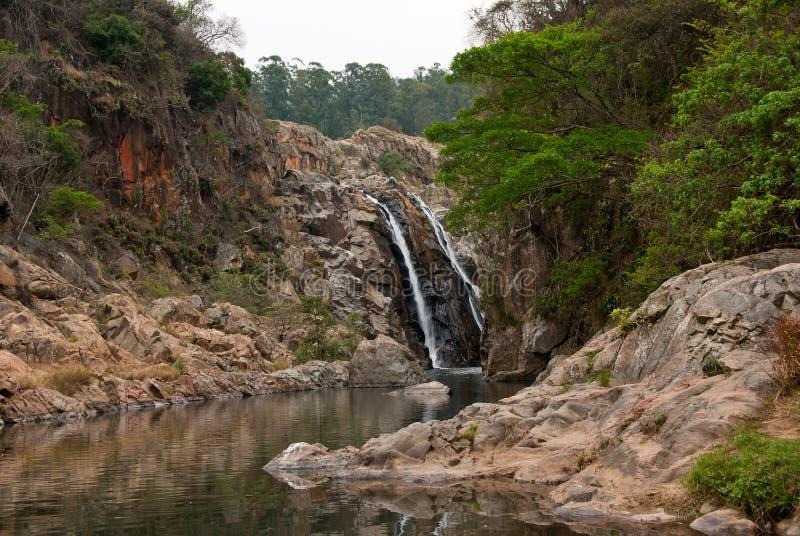 Mantenga Falls royalty free stock photos