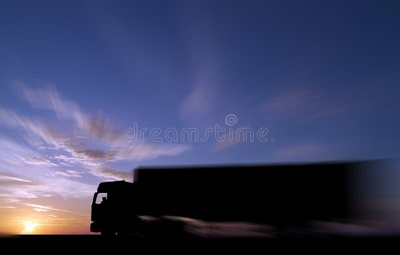 Mantenha no transporte por caminhão fotografia de stock royalty free