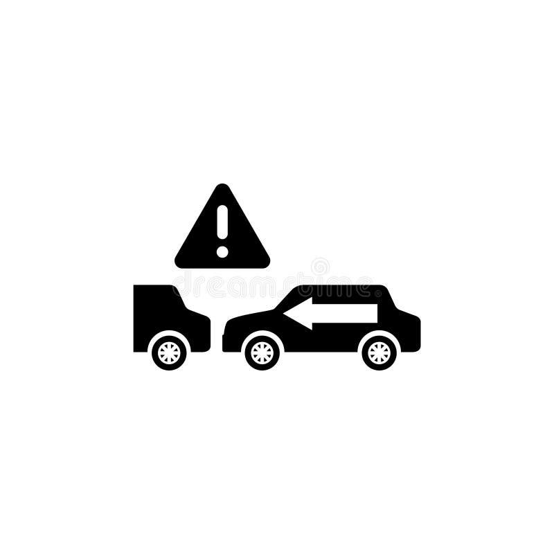 Mantenha o ícone liso do vetor da distância segura ilustração do vetor