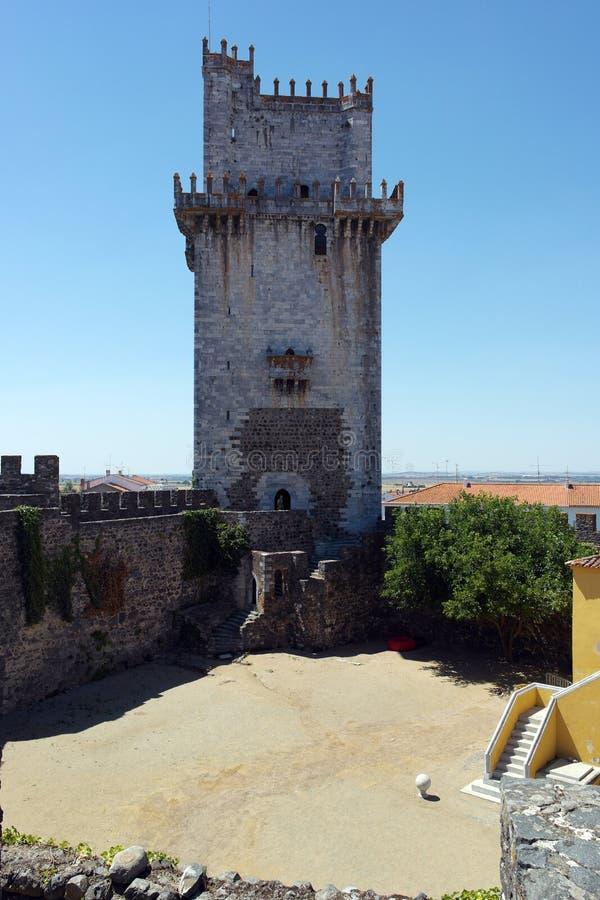 Mantenha a torre, Beja, Portugal imagem de stock royalty free