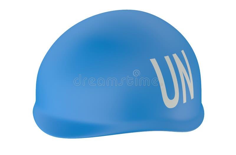 Mantenimento della pace ONU illustrazione vettoriale