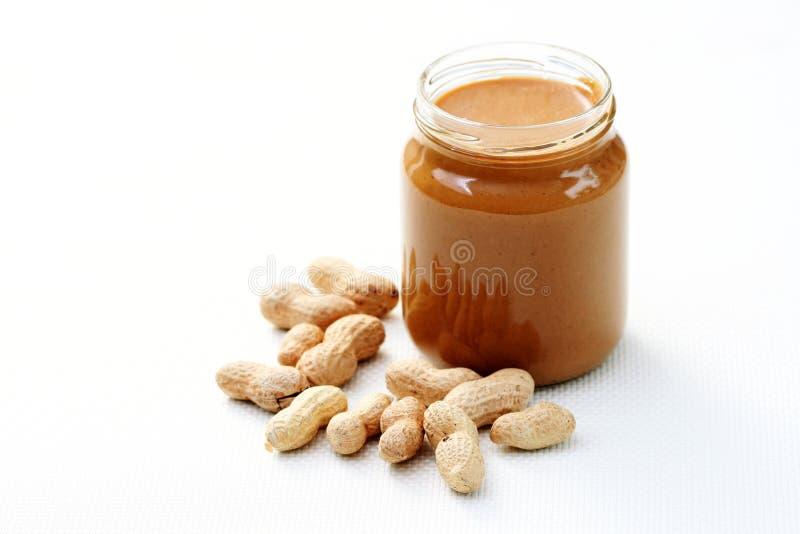 Mantequilla de cacahuete fotografía de archivo libre de regalías