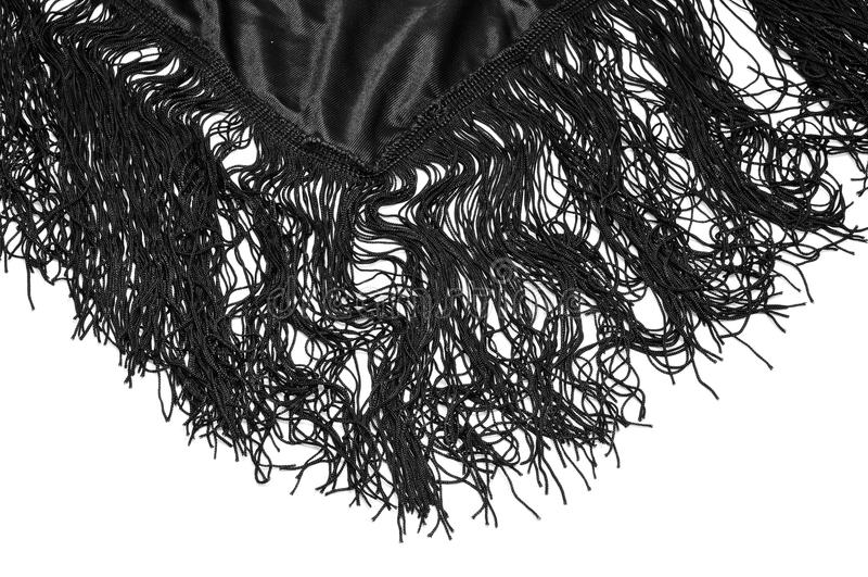 Mantilla, sciarpa spagnola tipica immagini stock libere da diritti